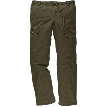 Cargo kalhoty Men Plus olivová
