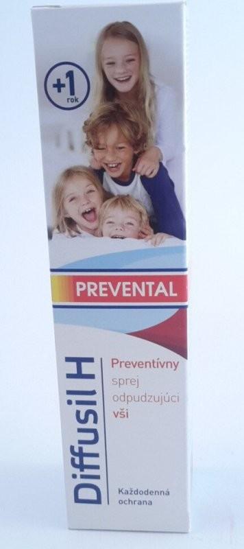Diffusil H Prevental preventnivní spray odpuzující vši 150 ml