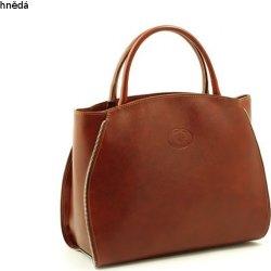 86189d5521bb velká dámská kabelka Shopper bag A4 kožená hnědá alternativy ...