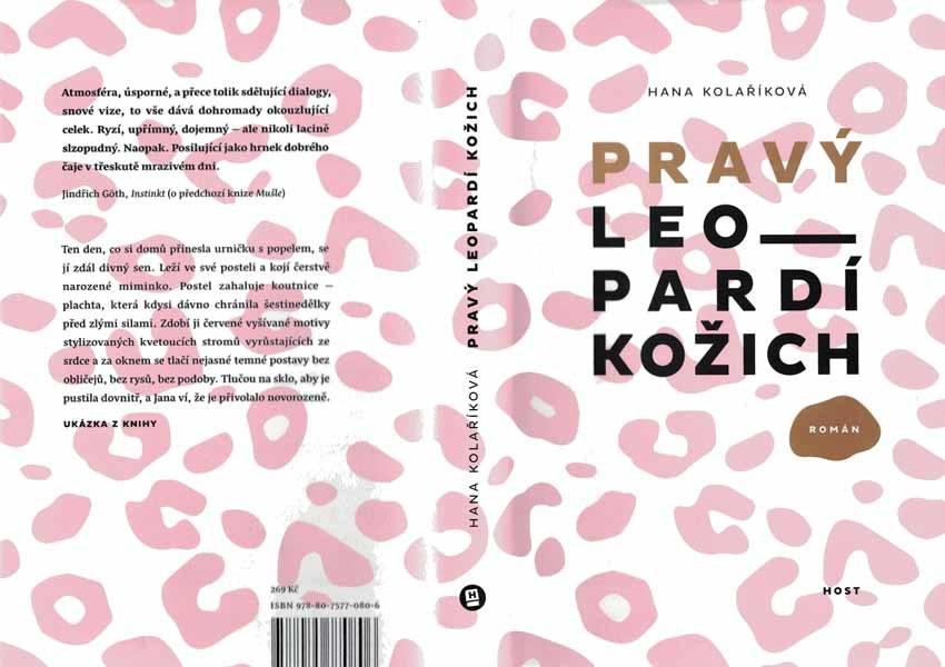 Pravý leopardí kožich - Hana Kolaříková od 169 Kč - Heureka.cz 522daf893b