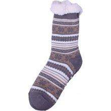 a10f9f38e8f Virgina Hřejivé domácí ponožky - hnědá