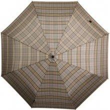 Pánský větruodolný skládací deštník PRESIDENT béžový