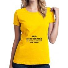 Fashion Manufacturer Ano jsem těhotná! Ne nesmíš se dotknout mého bříška dámské těhotenské tričko pro nastávající maminky