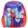 3D Dětský batůžek Frozen - červený