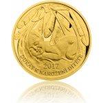 Česká mincovna Zlatý dukát k narození dítěte 2017 3,49 g