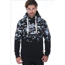 Carisma pánská army mikina s kapucí černá 6fd5dc0961