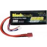 LiPol Car Black Magic 7.4V 2200mAh 30C Deans