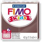 FIMO Modelovací hmota Kids hnědá 42 g