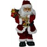 Vánoční dekorace tančící a zpívající Santa Claus