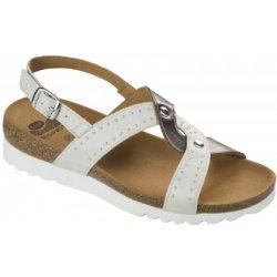 Dámská obuv Scholl SELAH bílé zdravotní sandály a385979621