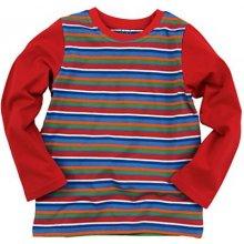 ab08d948228b Pruhované dětské tričko s dlouhým rukávem ENTENTINO