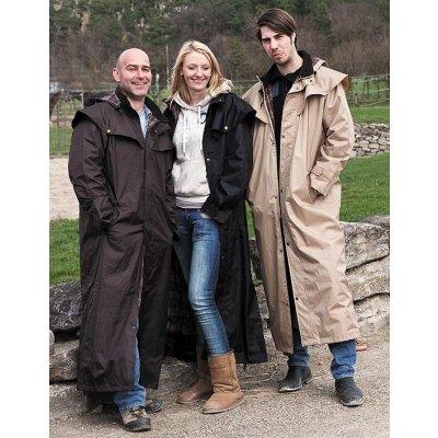 Australský kabát Stockman PE coat brown