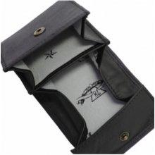 Diesel Kožená peněženka na mince černá