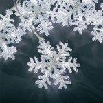 vánoční osvětlení LED pro interier vločky VÁNOČNÍ OSVĚTLENÍ 5KS VLOČKY 30X LED LEDOVÁ - 4436-203 - KonstSmide
