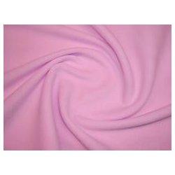 Látka fleece růžový mimi