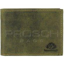 Greenburry Kožená peněženka mini 317-30 olivová