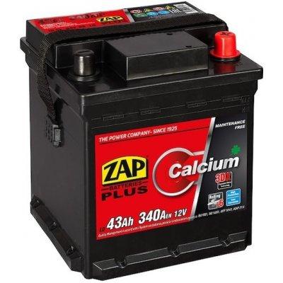 ZAP Plus 12V 43Ah 340A 54308