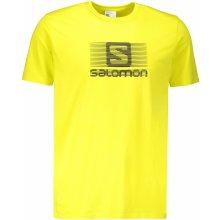 Salomon BLEND LOGO SS TEE L40354600 SULPHUR SPRING 08081c9f2c