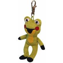 Přívěsek na klíče Bino Krteček a jeho kamarádi Žabka 8cm