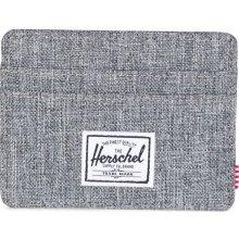 Herschel Šedá peněženka Charlie RFID