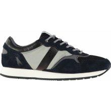 Lee Cooper Kit Sneakers pánské Shoes Blue/Grey/Black
