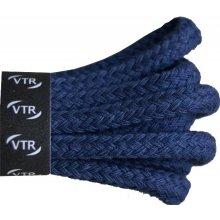 Sboty Bavlněné kulaté tkaničky silné - tmavě modré Velikost  100 cm eafd4b3f5c