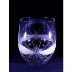 LsG-Crystal Skleničky broušené na Whisky dekor Kanta dárkové balení se saténem WU-196 6 Ks 370 ml