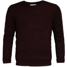 Lee Cooper Viscose Jumper Mens Burgundy