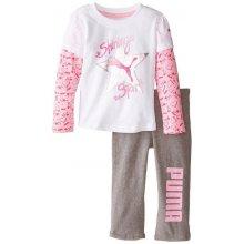 PUMA oblečení Shining Star 2 Piece Twofer set růžová
