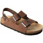 Pracovní obuv sandál FENIX hnědý
