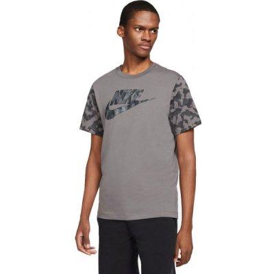 Nike NSW TEE FUTURA CLUB FILL pánské tričko