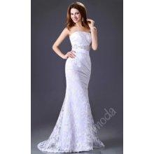 Svatební šaty dlouhé bílé CL2528