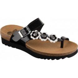 Scholl SIBEL PLUS zdravotní pantofle odpuzující komáry černé od 1 ... 8d67e31d61