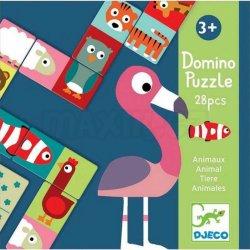 Djeco Oboustranné domino: Zvířátka
