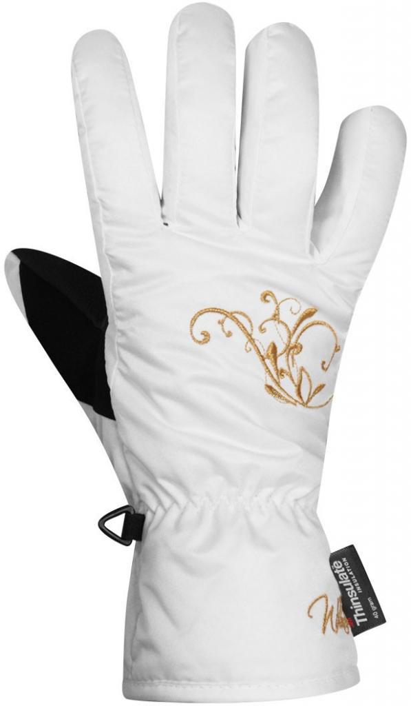 Přidat odbornou recenzi Willard dámské lyžařské rukavice s výšivkou bílá -  Heureka.cz ee53a38309