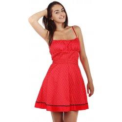 754116b0ddea YooY áčkové šaty s jemnými puntíky červená alternativy - Heureka.cz