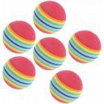 Dunlop Foam Practice Balls 6 Pack