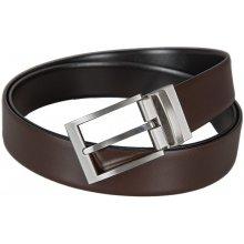 Lloyd pánský černý a hnědý kožený pásek 3112 03f8c0f101