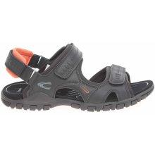 Camel Active pánské sandály 422.11.06 černé černá černá
