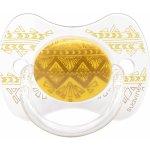 Suavinex Couture Fyziologický dudlík silikon žlutá