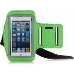 Pouzdro Sportiso Sportovní Armband iPhone 5/5S/SE Zelená