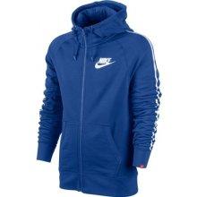 Nike mikina AW77 FZ LOGO TAPE