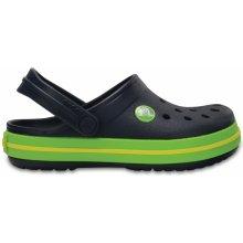 Crocs Crocband Clog K 204537-4K6 navy/volt green