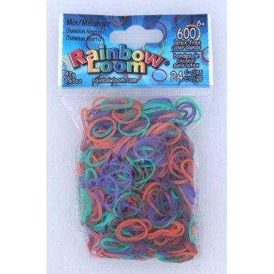 Rainbow Loom Original gumičky chameleon 600 ks