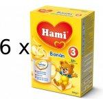 Hami 3 Banán Optivital 6x500g
