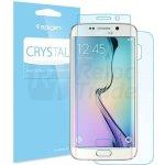 Samsung G925 / Galaxy S6 Edge - Ochranná fólie - Spigen LCD Film Crystal CR / Polykarbonátová