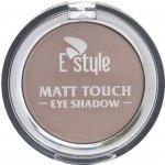 E style Matt Touch Eye Shadow Mono matové oční stíny 6 Bamboo 6 g