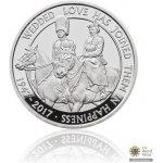 Česká mincovna Stříbrná mince Platinová svatba 28,28 g