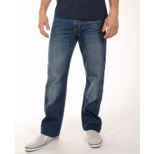 Tommy Hilfiger pánské modré džíny Madison