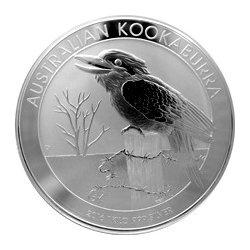 Kookaburra Stříbrná investiční mince Ledňáček 1 Kg